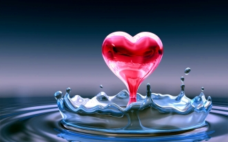 heart-splash